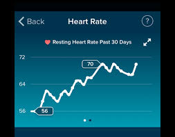 Fitbit Resting Heart Rate Chart What To Expect When Youre Expecting While Wearing A Fitbit