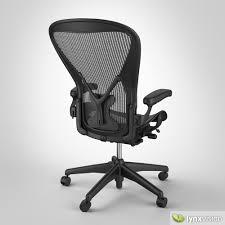 Aeron Chair by Herman Miller 3D model   CGTrader