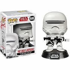 «<b>Фигурка Funko POP</b>! <b>Bobble</b>: Star Wars: E8 TLJ: First Order ...