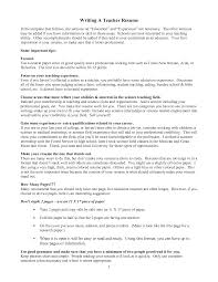 100 New Teacher Resume 5 Middle Teacher Resume Examples Job