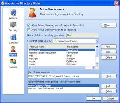 Define Ldap Users