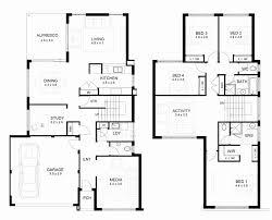 modern two y residential house floor beauty plan 2