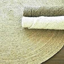 sisal rug bold inspiration round by rugs braided jute 8 pottery 8x10