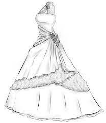 Anda yang ingin membuat berbagai jenis model baju, maka anda harus belajar membuat sketsa pakaian. Cara Menggambar Gaun Pinggiran For Android Apk Download