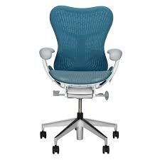 white vinyl office chair. Stylish Herman Miller Office Chairs Blue Seat And Bck White Vinyl Padded Arm Steel Frame Material Chrome Pictures 63 Chair
