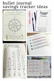 Bullet Journal Savings Trackers Save Money And Smash Your