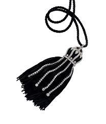 boucheron pendant made of silk and diamonds 1920