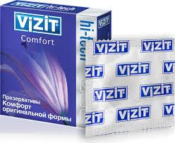 <b>VIZIT Презервативы</b> HI-TECH Comfort, оригинальной формы, <b>3</b> шт