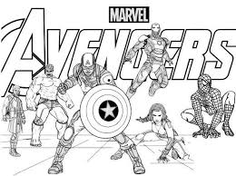 The franchise consists of all the major characters of the avengers, including agent carter and agent here is one of the lego movie printable coloring pages that shows emmet in the pirate costume. Avengers Poster Coloring Page Free Printable Coloring Pages For Kids