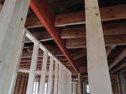beam to replace a load bearing wall