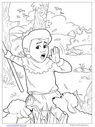 Small Picture The Boy Who Cried Wolf Coloring Pages Free Printable Coloring