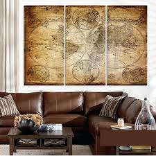 Wall paintings for office Work Office Wall Prints Canvas Prints Poster Office Wall Art Pictures Framework Pieces Retro Vintage World Map Office Wall Ihealthapps Office Wall Prints United States Map Picture Wall Art Canvas Prints