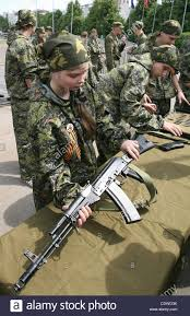 russian teenagers are getting military skills during the summer russian teenagers are getting military skills during the summer training camp zarnitsa for teenages organized by