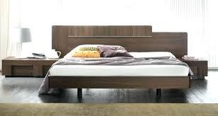 black modern platform bed. Modern Platform Bed King Beds Size Aspen Black
