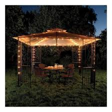 gazebo lighting ideas. Ideas Outdoor Spaces Curtains Lights Gazebo Lighting A