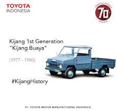 Generasi pertama dari Toyota Kijang menggabungkan konsep mobil bak ...