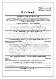 How Write A Professional Resume Absolute Depiction Mr Cv Sample