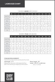 Ladies Blouse Sizes Chart Coolmine Community School