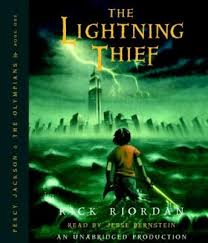 lightning thief percy jackson and the olympians book 1 audio book by rick