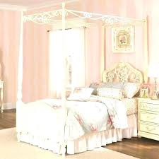 Wooden Canopy Bed Frame White Wood Canopy Bed Twin Full Size Of ...