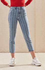 Pacsun Pacsun Window Pane Mom Jeans In 2019 Black Mom