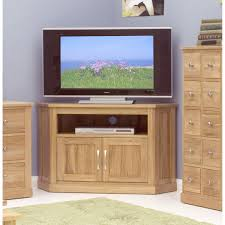 image baumhaus mobel. Baumhaus Mobel Solid Oak Corner TV Cabinet COR09C Image O