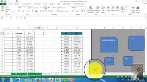 Road Cross Section Design Software Free Download How To Draw Road Cross Section Using Excel To Autocad Part 1