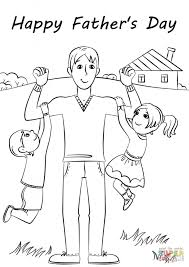 father s day card coloring pages 4ak80