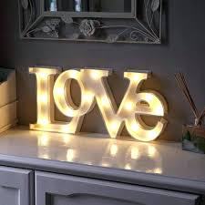 letter that light up light up letters home bargains led letter light letter wall lights modern