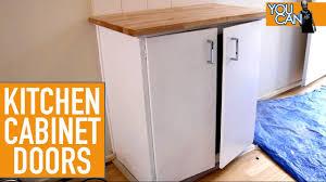 how to upgrade kitchen cabinet doors