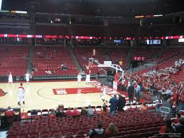 University Of Wisconsin Kohl Center Seating Chart Kohl Center Section 121 Rateyourseats Com