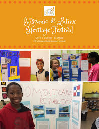 from september 15 to october 15 we observe hispanic latinx heritage month as a time for celebrating the culture art history and achievements of