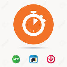 Download Timer Stopwatch Icon Timer Or Clock Device Symbol Calendar Download
