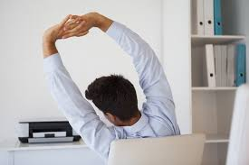 good arm stretches you can do at your desk