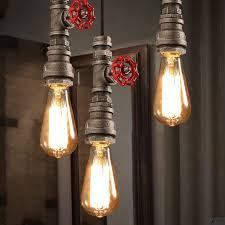 industrial track lighting industrial track lighting zoom. Retro Industrial Loft Mini Rust Metal Water Pipe Single Pendant Light · Zoom Track Lighting