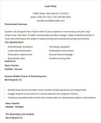 Free Teacher Resume 40 Free Word PDF Documents Download Free Awesome Teaching Resumes