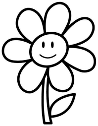 Small Picture Coloring Book Flowers