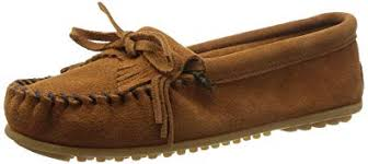 Minnetonka Shoes Womens Kilty Hardsole Moccasin 9 Arizona 402k