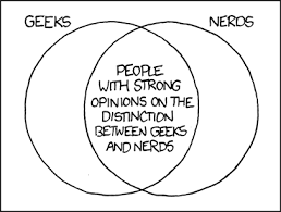 Xkcd Venn Diagram Xkcd Geeks And Nerds