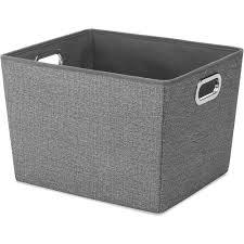 Decorative Fabric Storage Boxes Black Canvas Storage Boxes 60