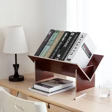 small book shelves.  Small Solid Wood Assembly Bookshelf Table Floor Small Bookcase Student Desktop  Storage Shelves Simple Bookshelvesin Storage Holders U0026 Racks From Home  In Small Book Shelves E