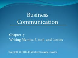 Memorandums And Letters Powerpoint Chapter 7 Writing Memos And Letters Ppt Video Online