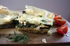 vegan greek spinach feta pie spanakopita