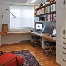 two desk home office. Bright Home Office Design For Two By Charlie Barnett Associates Desk
