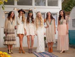 48 best bohemian theme wedding guest outfit ideas images on Wedding Guest Dresses Boho mix & match bridesmaids dresses in a boho fashion but the necklaces wedding guest dresses boutique