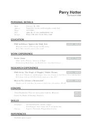 Latex Resume Template Beauteous Latex Resume Template Templates For Graduate Students Us Academic Cv