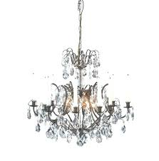 candle chandelier non electric medium size