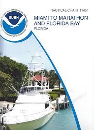 Boat Chart Noaa Nautical Chart 11451 Miami To Marathon And Florida Bay