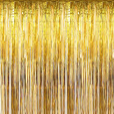 New Year Backdrops Sumind 10 Packs Foil Curtains Tinsel Curtains Photo Booth Backdrops