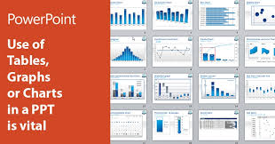 Ppt Charts And Graphs Use Of Tables Graphs Or Charts In A Ppt Is Vital